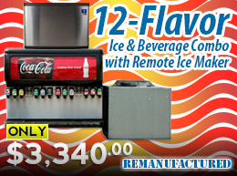12-flavor Ice and Beverage with Remote Ice Maker - ONLY $3,340