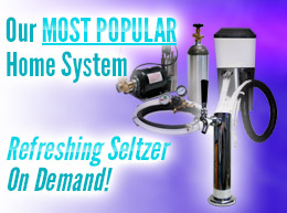 MOST POPULAR Home System - Refreshing Seltzer On Demand!
