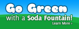 Go Green with a Soda Fountain