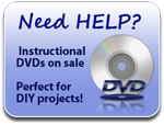 Need Help? Instructional DVDs on sale!