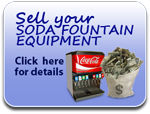Sell your soda fountain equipment