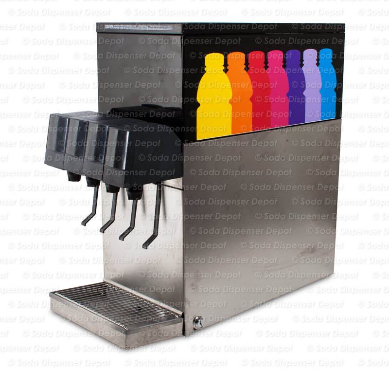 4-Flavor Counter Electric Soda Fountain System