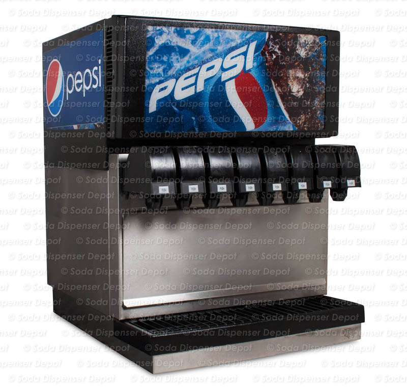 8-Flavor Counter Electric Soda Fountain System
