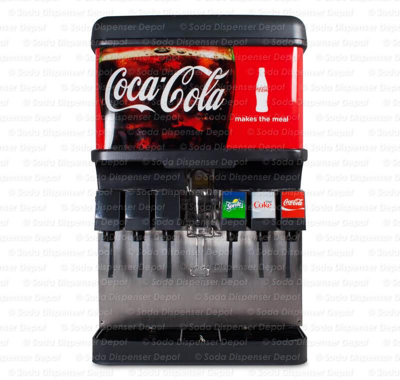 6-Flavor Ice & Beverage Soda Fountain System