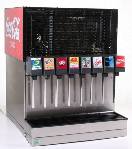 6-Flavor Counter Electric Soda Fountain System