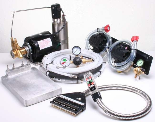 2-Flavor Soda Gun Cold Plate Soda Fountain System
