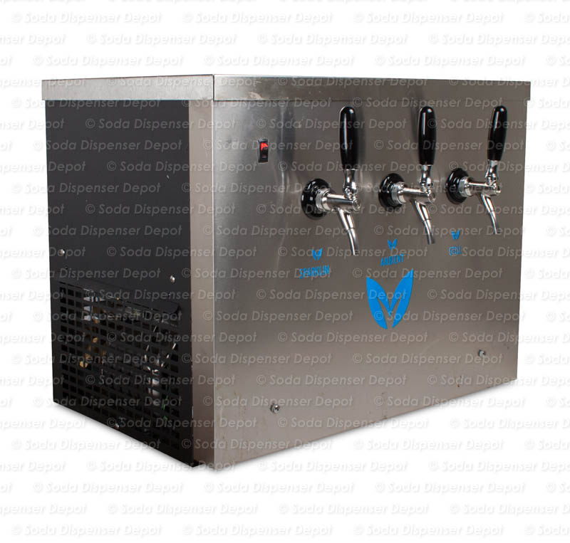 Countertop Seltzer/Ambient/Still Water Dispenser System